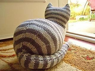 image Free Knitting Pattern Toy Cat