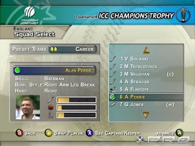 Brian Lara International Cricket 2007 Game Setup Download