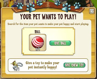 Castleville Your Pet Wants to Play