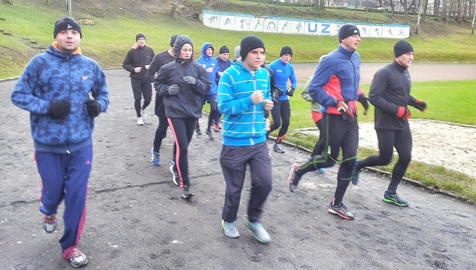 trening, bieg, Zielona Góra, sport
