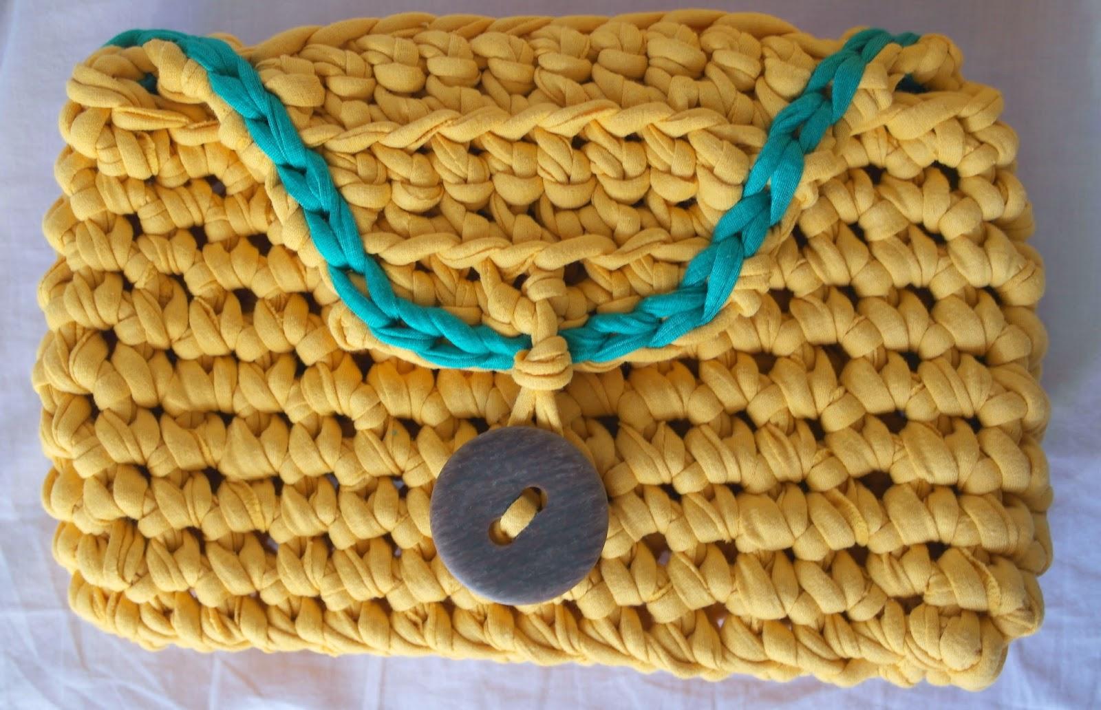 Вязание пряжей макароны