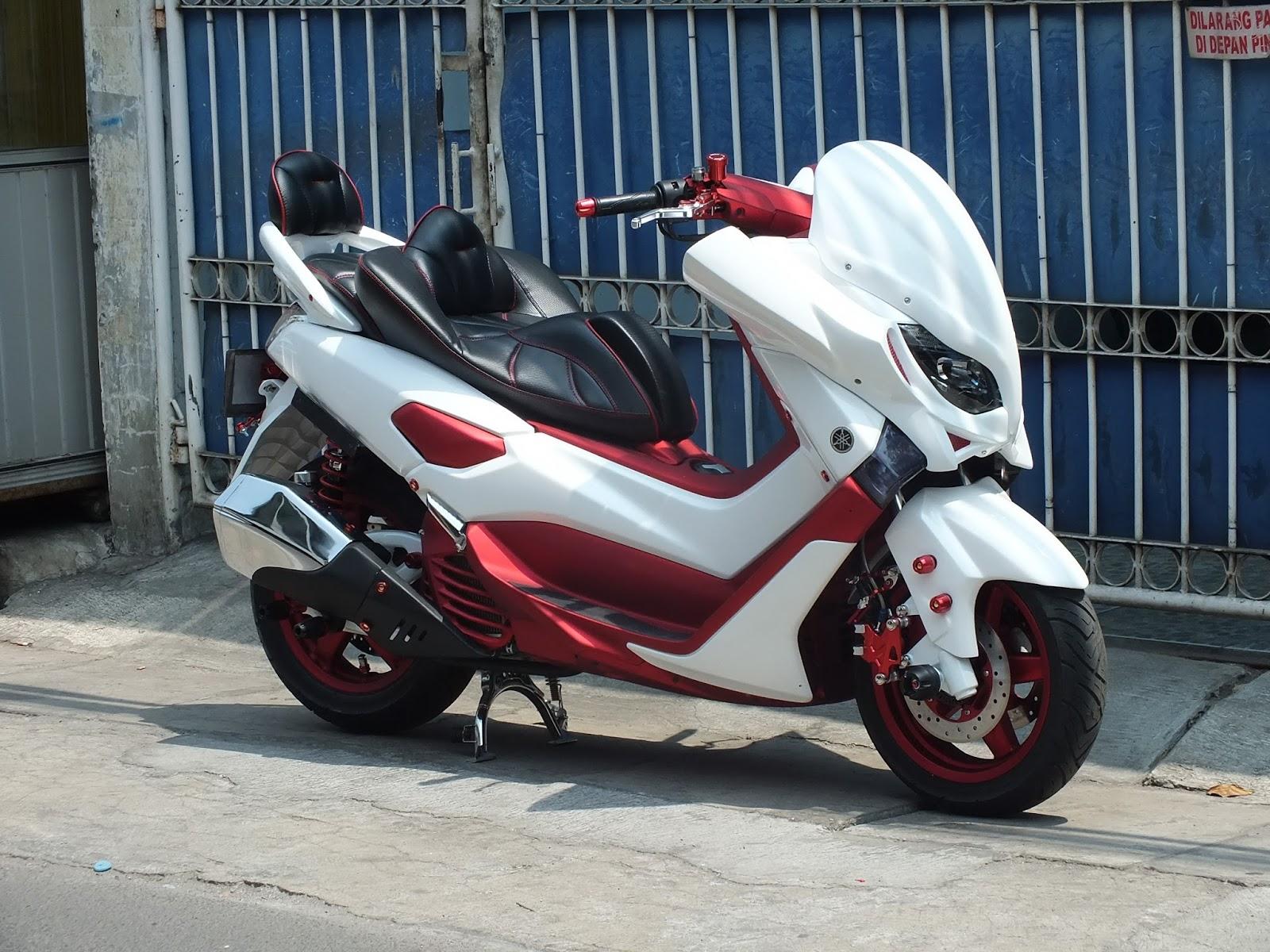 Doctor Matic Klinik Spesialis Motor Matic  Yamaha Nmax Modifikasi