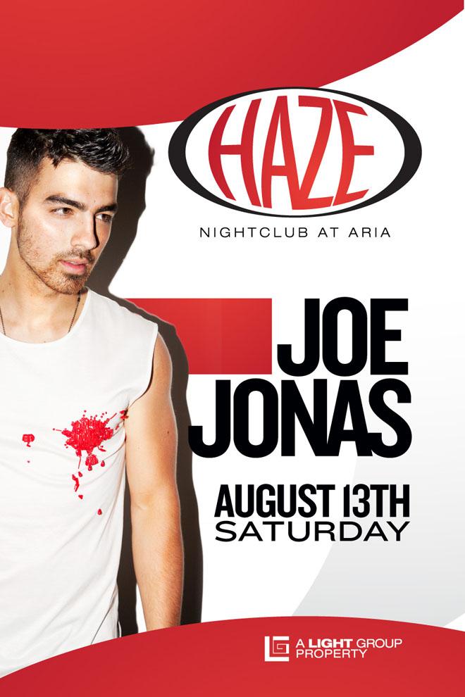 The Jonas Blog: Joe Jonas estar� en el Nightclub Haze en Las Vegas