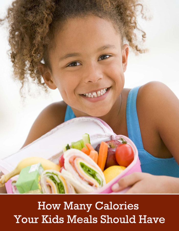 How Many Calories Your Kids Meals Should Have
