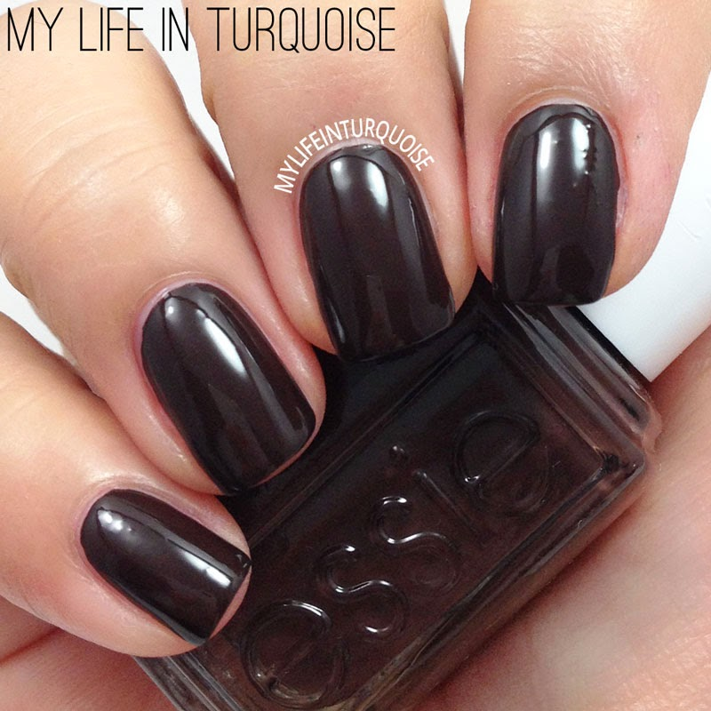 This Is Definitely A Great Way Of Wearing Super Dark And Vampy Nails Without Going For The Jet Black Look Formula Once Again Was Just Perfect