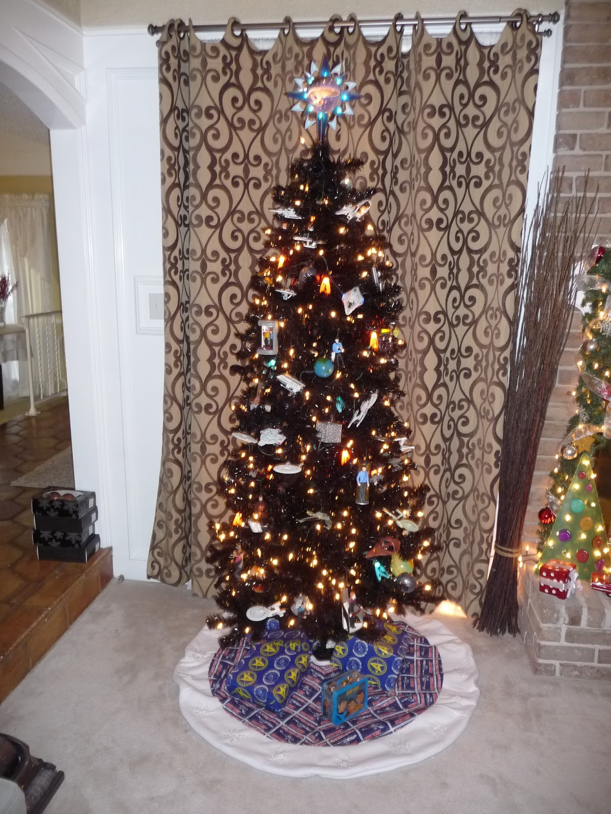 Things I Think I Think: Star Trek Christmas Tree