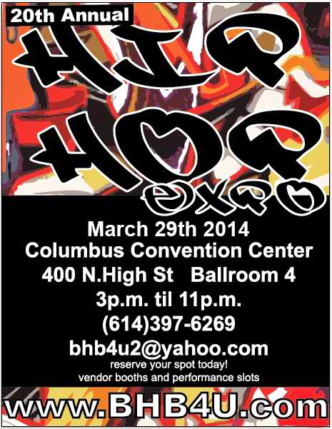 BHB4U.COM 20TH ANNUAL HIP HOP EXPO MARCH 29, 2014