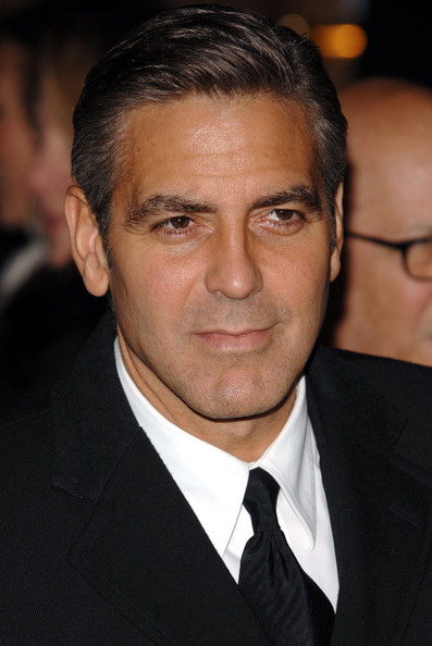George Clooney Cool Short Hairstyle | Men Hairstyles , Short, Long ...