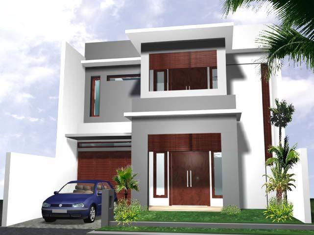 Desain rumah: Contoh Desain rumah minimalis