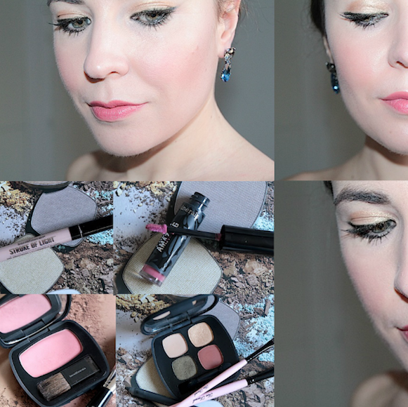 maquillage de noêl tuto tutorial test avis bareminerals
