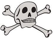 The skull and crossbones represents many thingsmortality, .