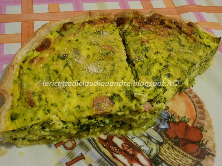 Ricette torta salata con catalogna