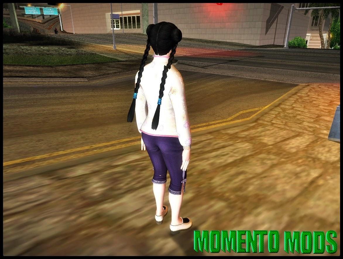 GTA SA - Skin Pai Chan Costume 4 ( Dead Or Alive 5 )