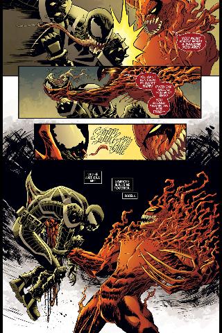 Agent venom vs carnage official feedback venom