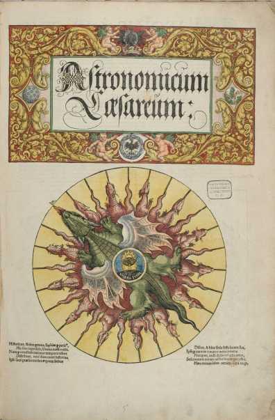 Astronomicum Caesareum-Petrus Apianus