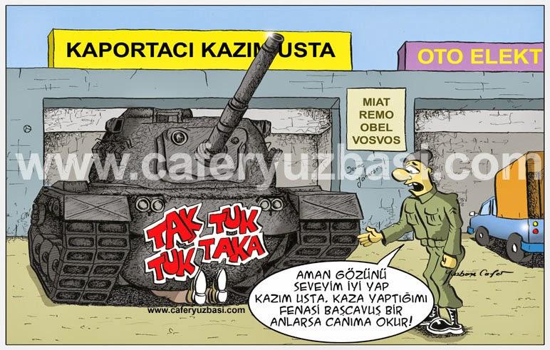 tank kazasi-Askerce