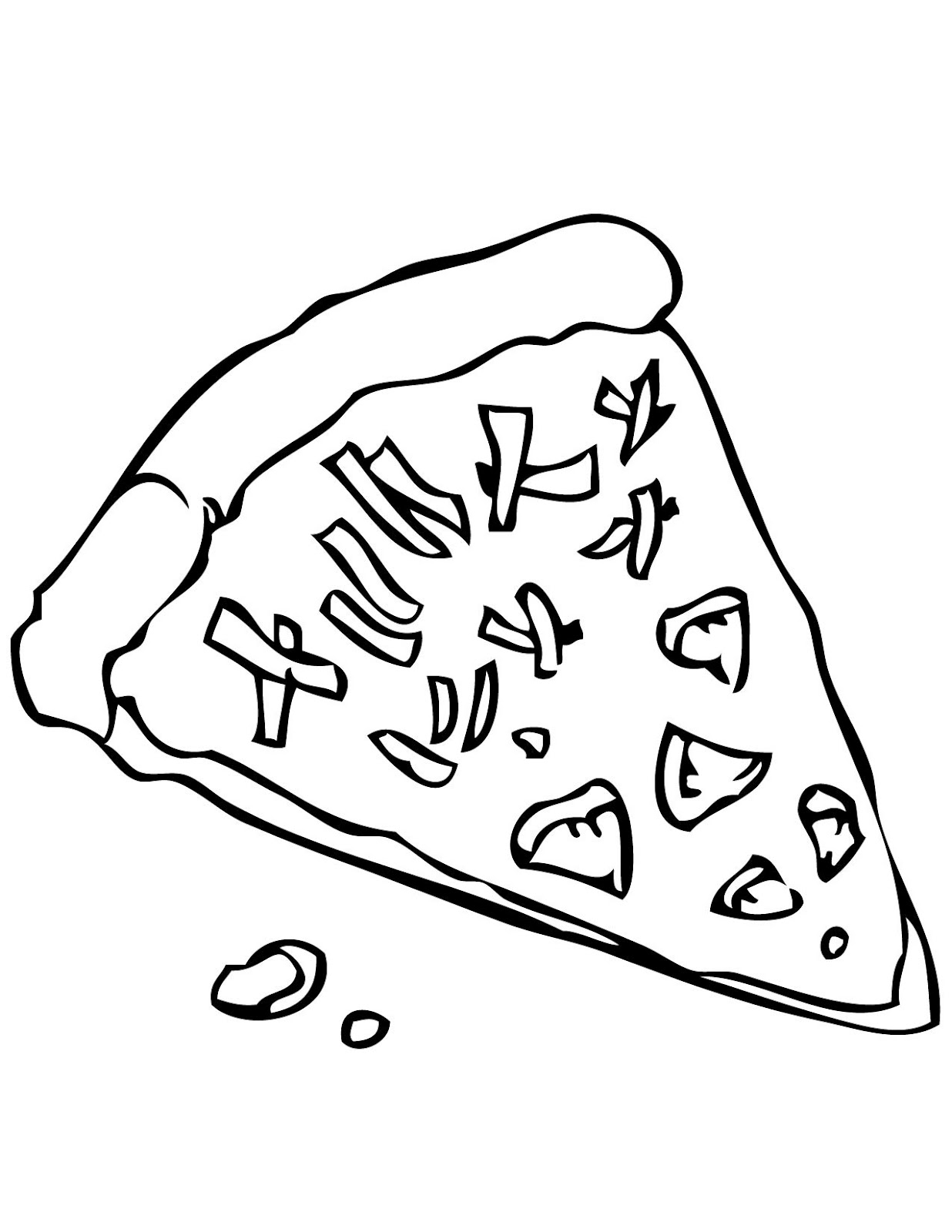 how to draw a cite pizza