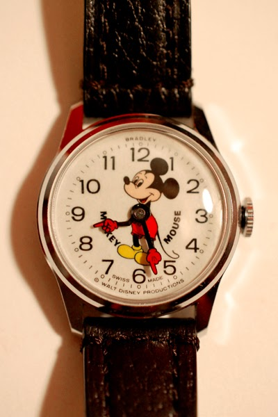 Disney Musings Mickey Mouse Watch Vintage Style