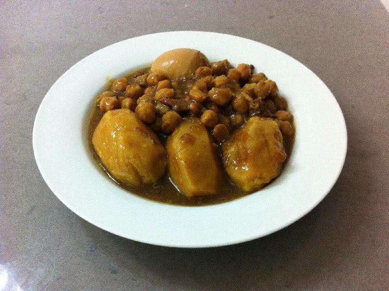 מרק חומוס עם בשר