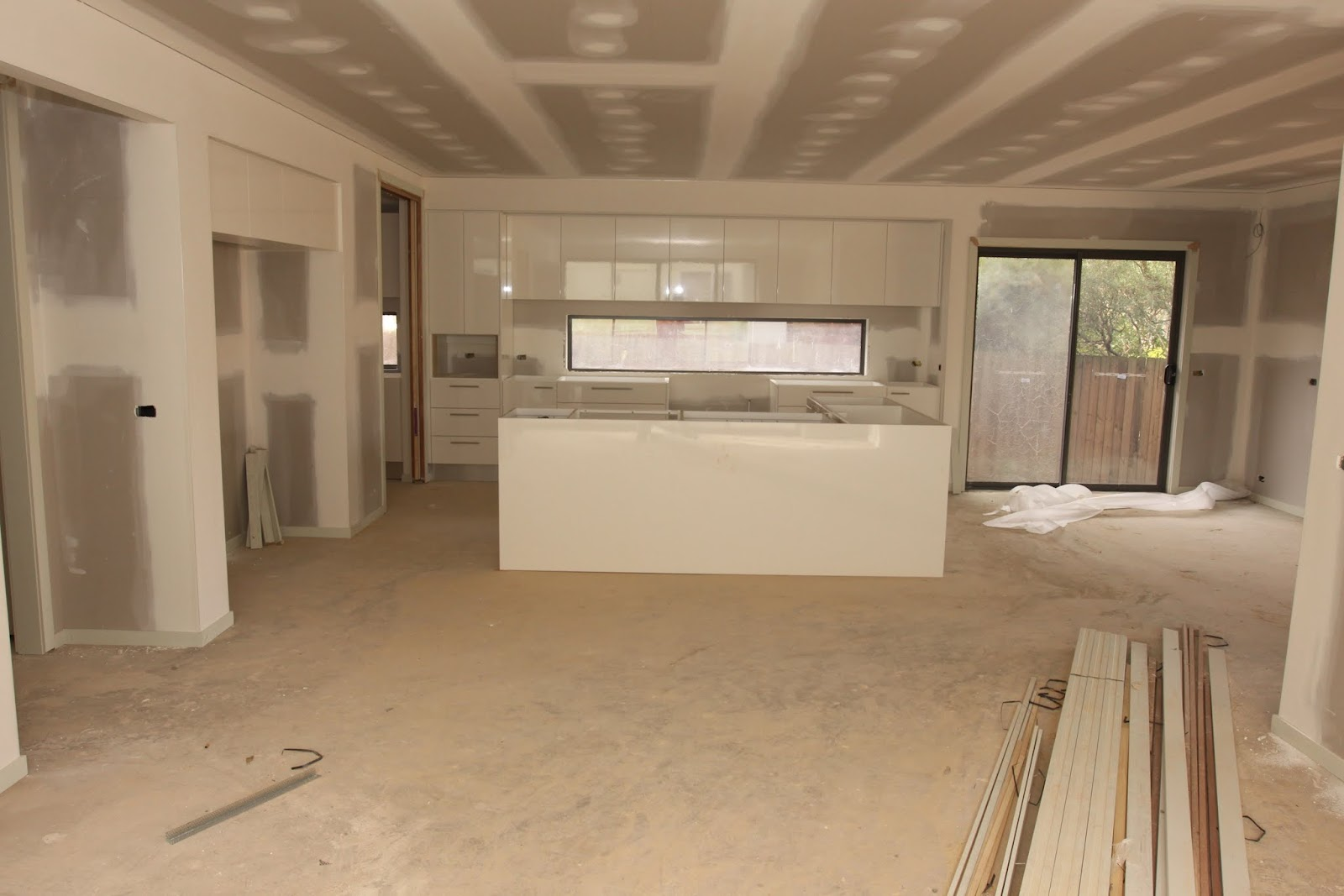 Our metricon nolan 41 journey kitchen and vanity cabinetry - Yay The Kitchen Installation Has Been Started