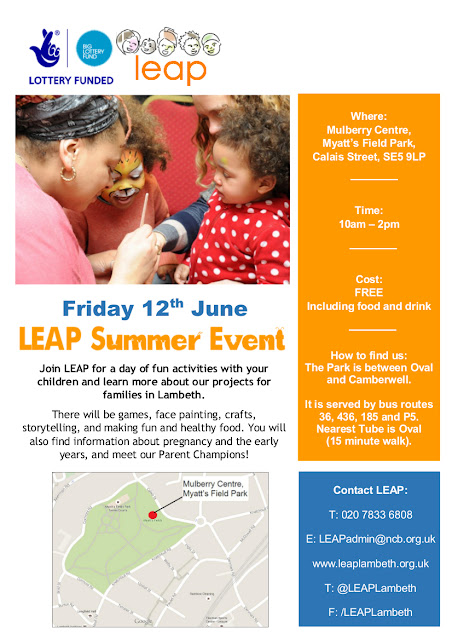 LEAP flyer for 12 June 2015 on vassallview.com