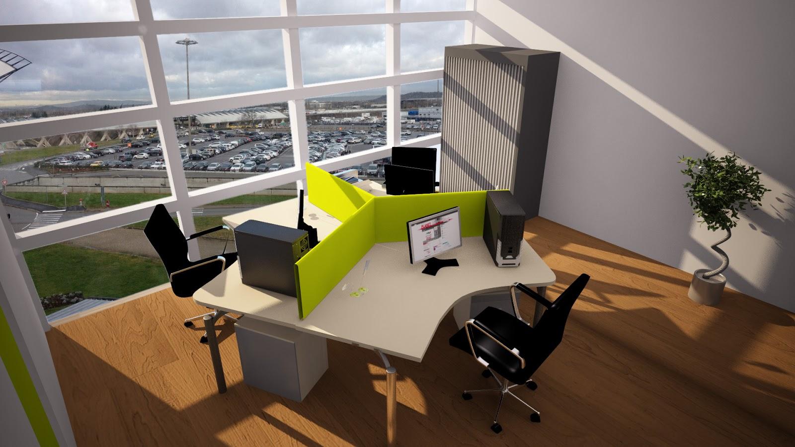 Aménagement de bureaux open space designer despace