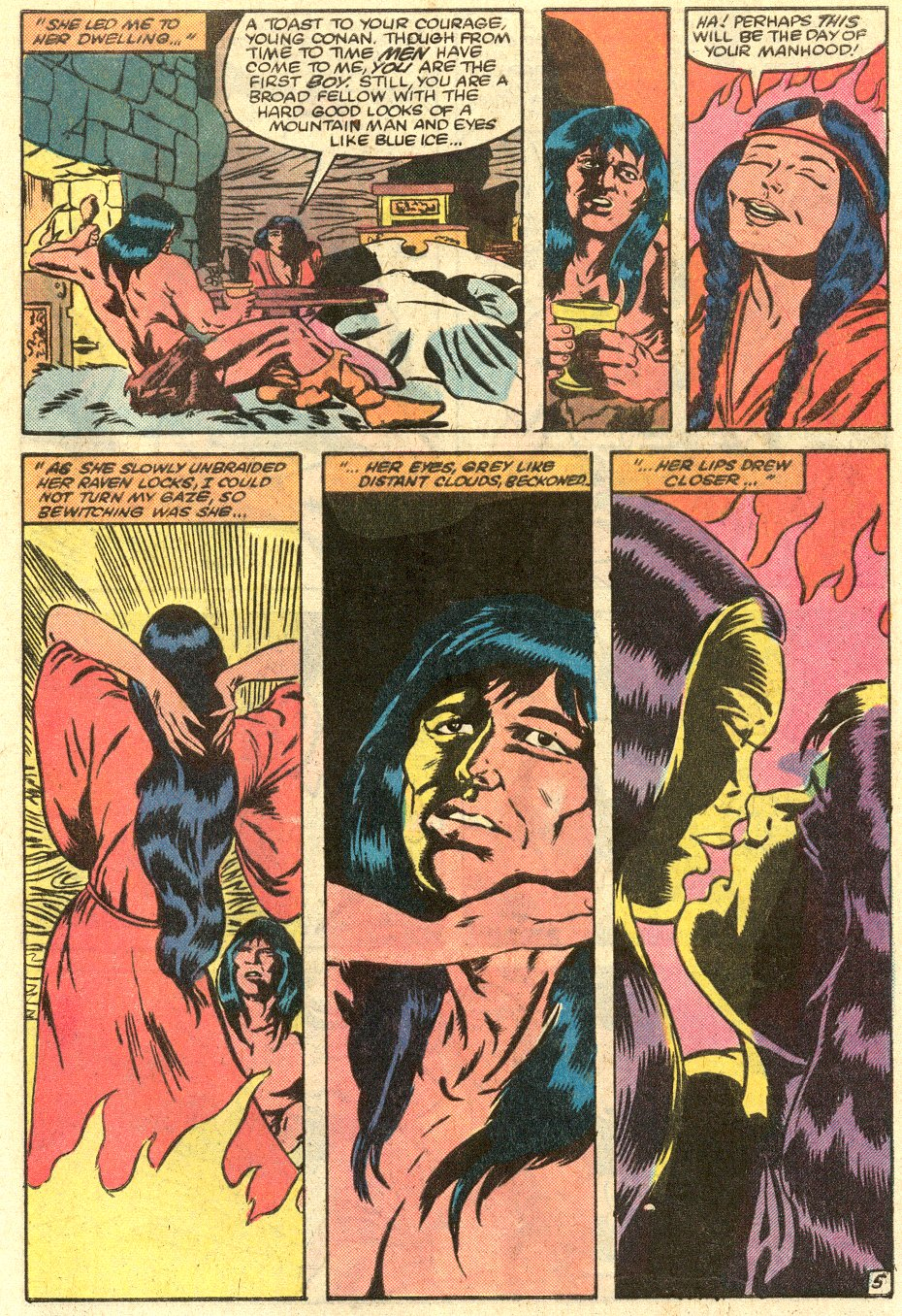 Conan the Barbarian (1970) Issue #145 #157 - English 6