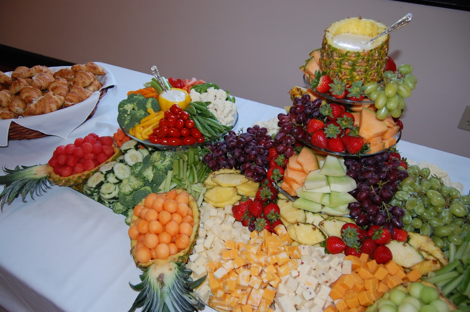 Cook create consume fruit vegetable amp cheese platter centerpiece