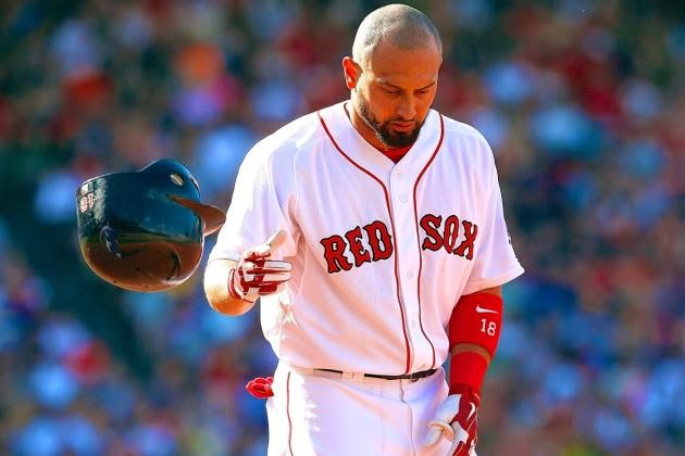 Farrell Designates Victorino As Sox Starting RF