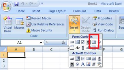 Membuat List Box Di Lembar Kerja Excel