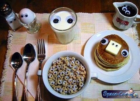 funny things cute food