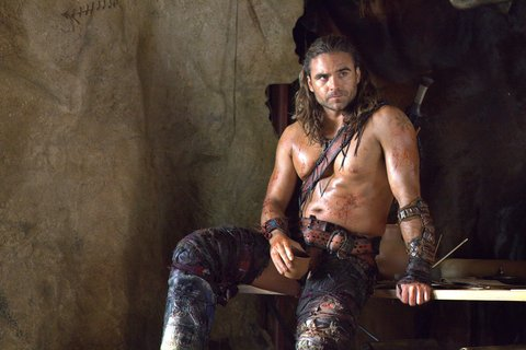 the of gannicus damned war Spartacus