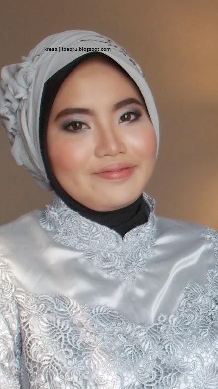 makeup natural stylist hijab pesta