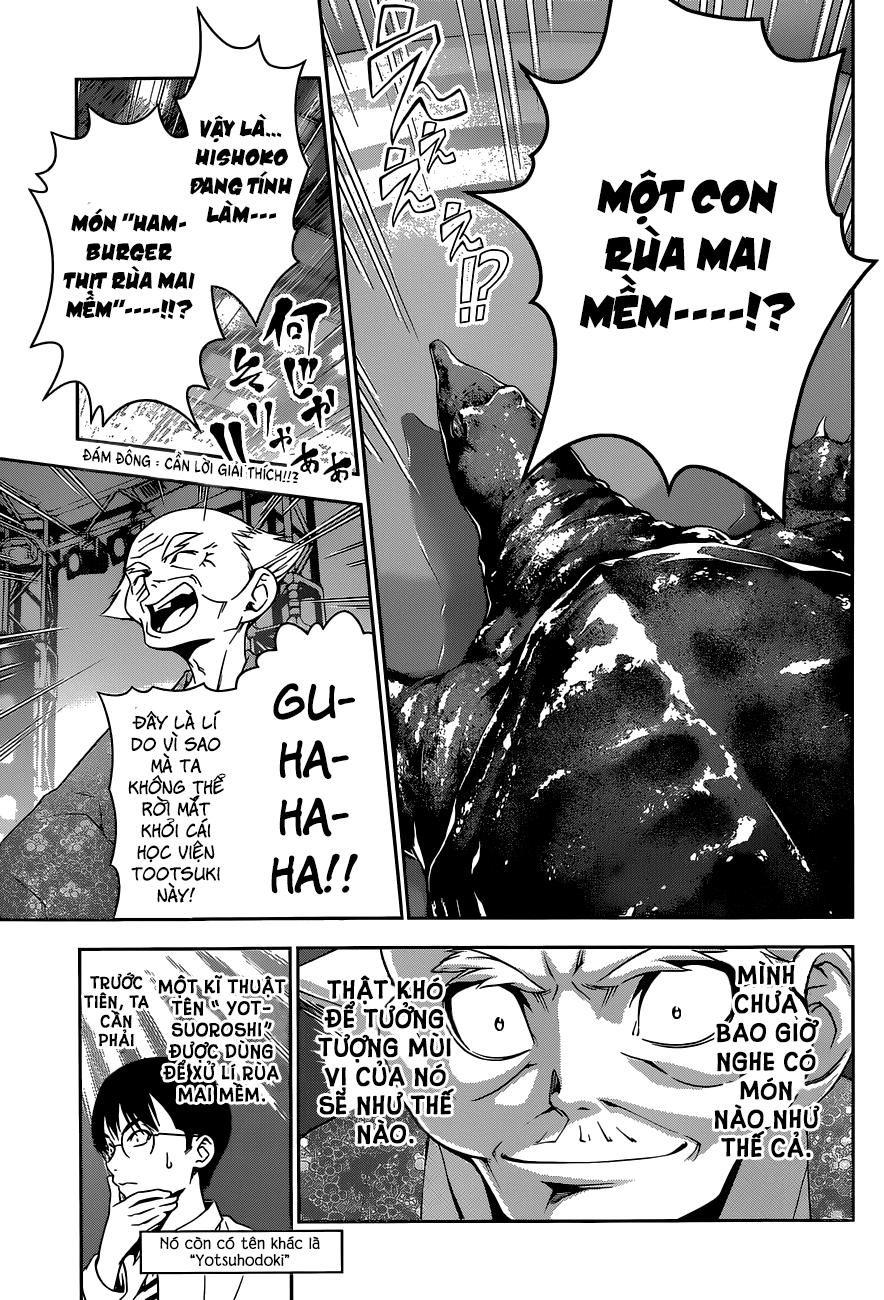 Shokugeki no Soma – Vua bếp Soma chap 73 Trang 15 - Mangak.info