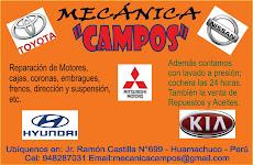 Aupicio: Mecánica Campos