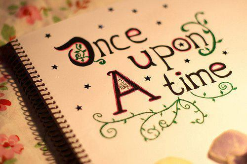 Once Upon A Time Writing Fairy Tale A Take on Cinderella a...