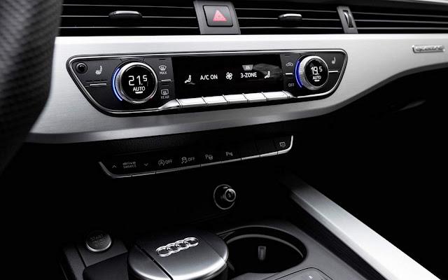 Novo Audi A4 2016 - interior - ar-condicionado
