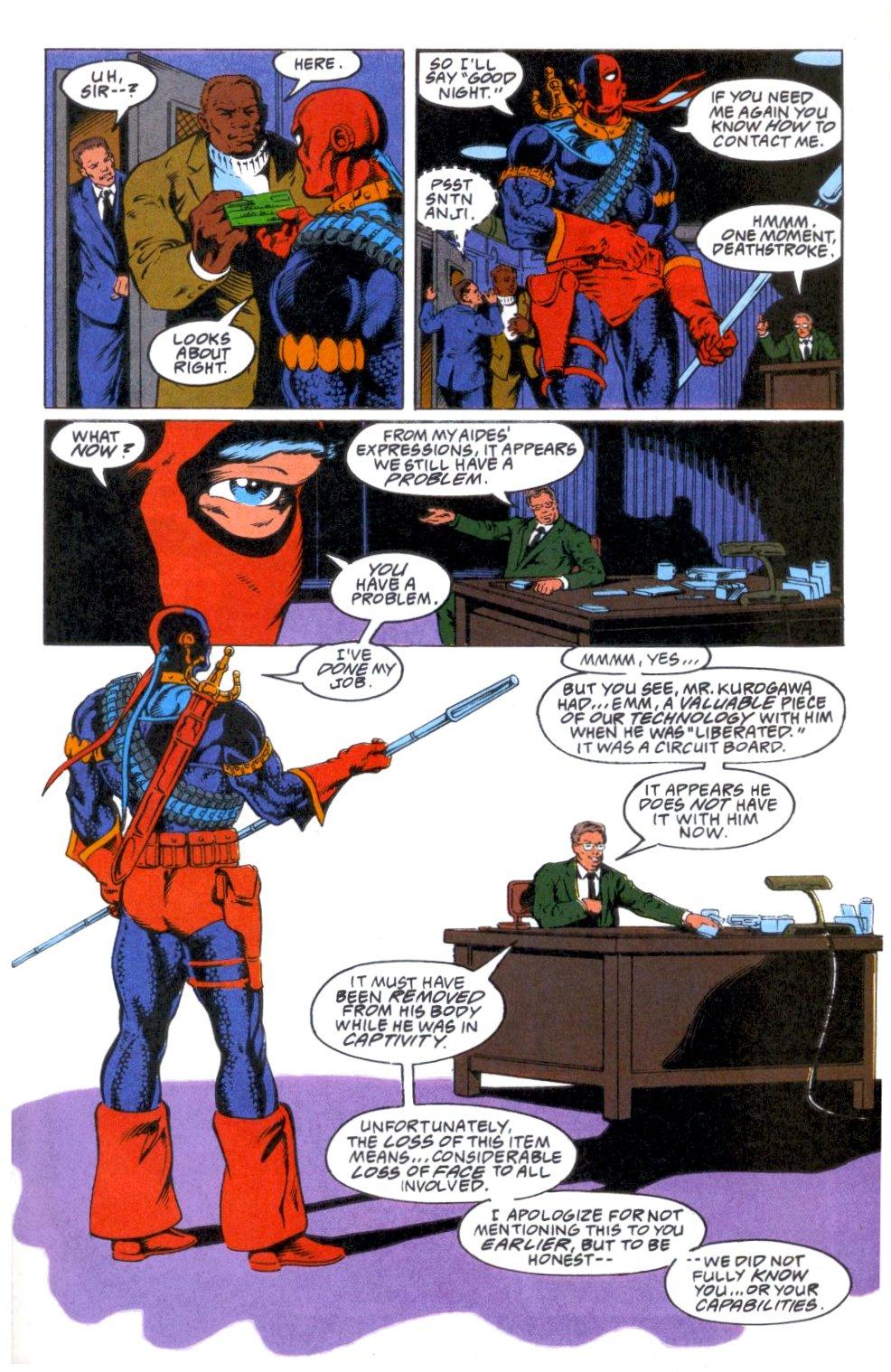 Deathstroke (1991) Annual 1 #1 - English 20