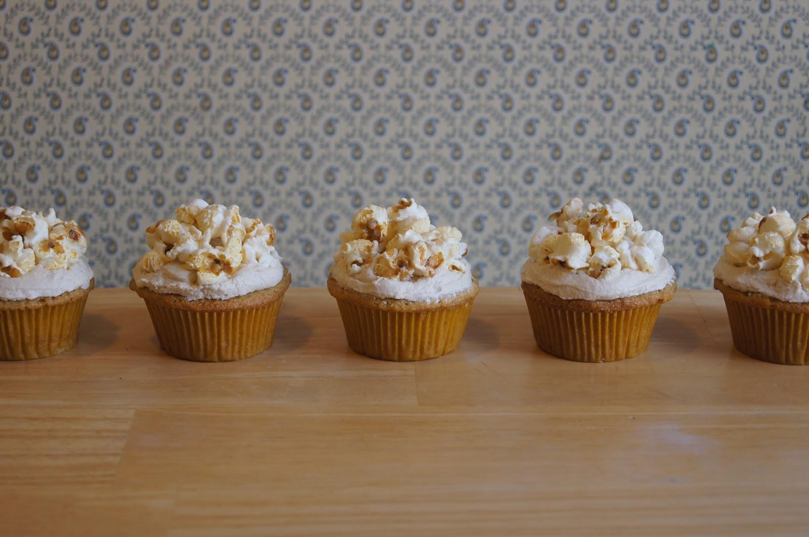 Cornmeal Cupcakes