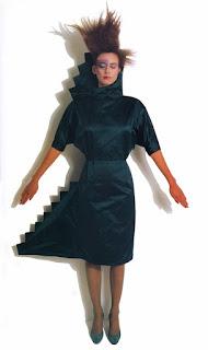 "Cinzia Ruggeri ""Homage to Lévi Strauss dress"""