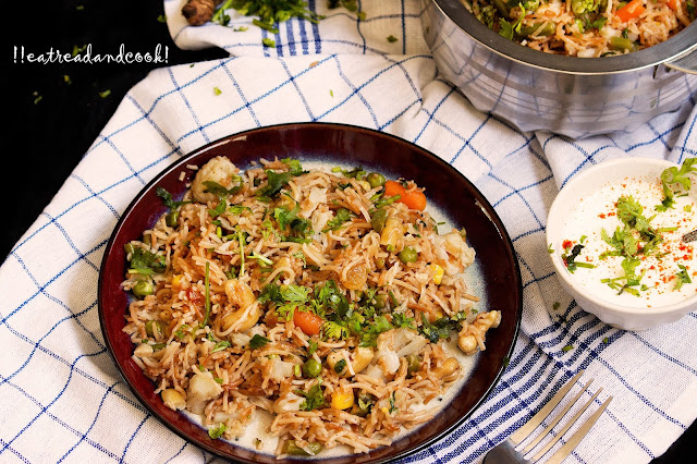 vermicelli pulao recipe with step by step pictures