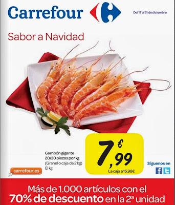 catalogo carrefour sabor a navidad 2013
