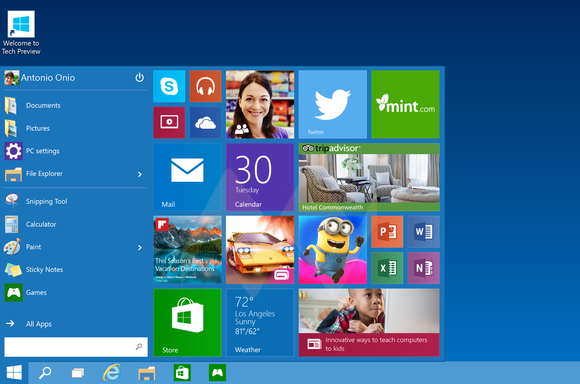 Master ISO Windows 10 Technical Preview