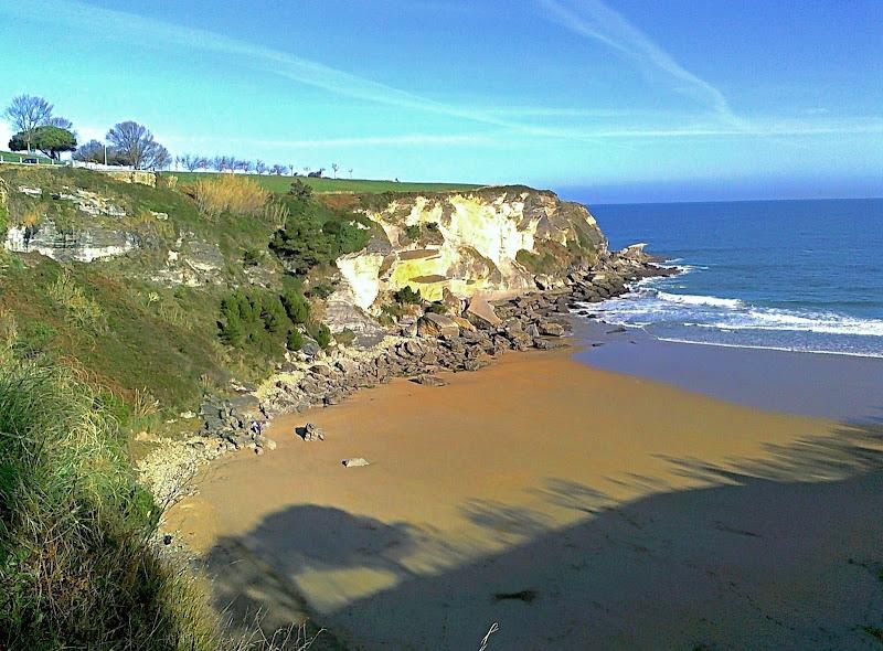 Playa de Mataleñas en Santander