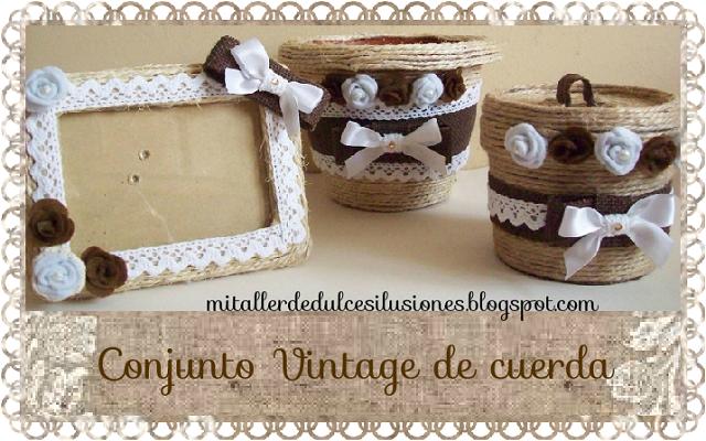 Decoracion vintage marco for Decoracion vintage manualidades