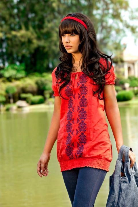 Crossroads springsummer collection 2012 for girls and boys for Bano market faisalabad dresses