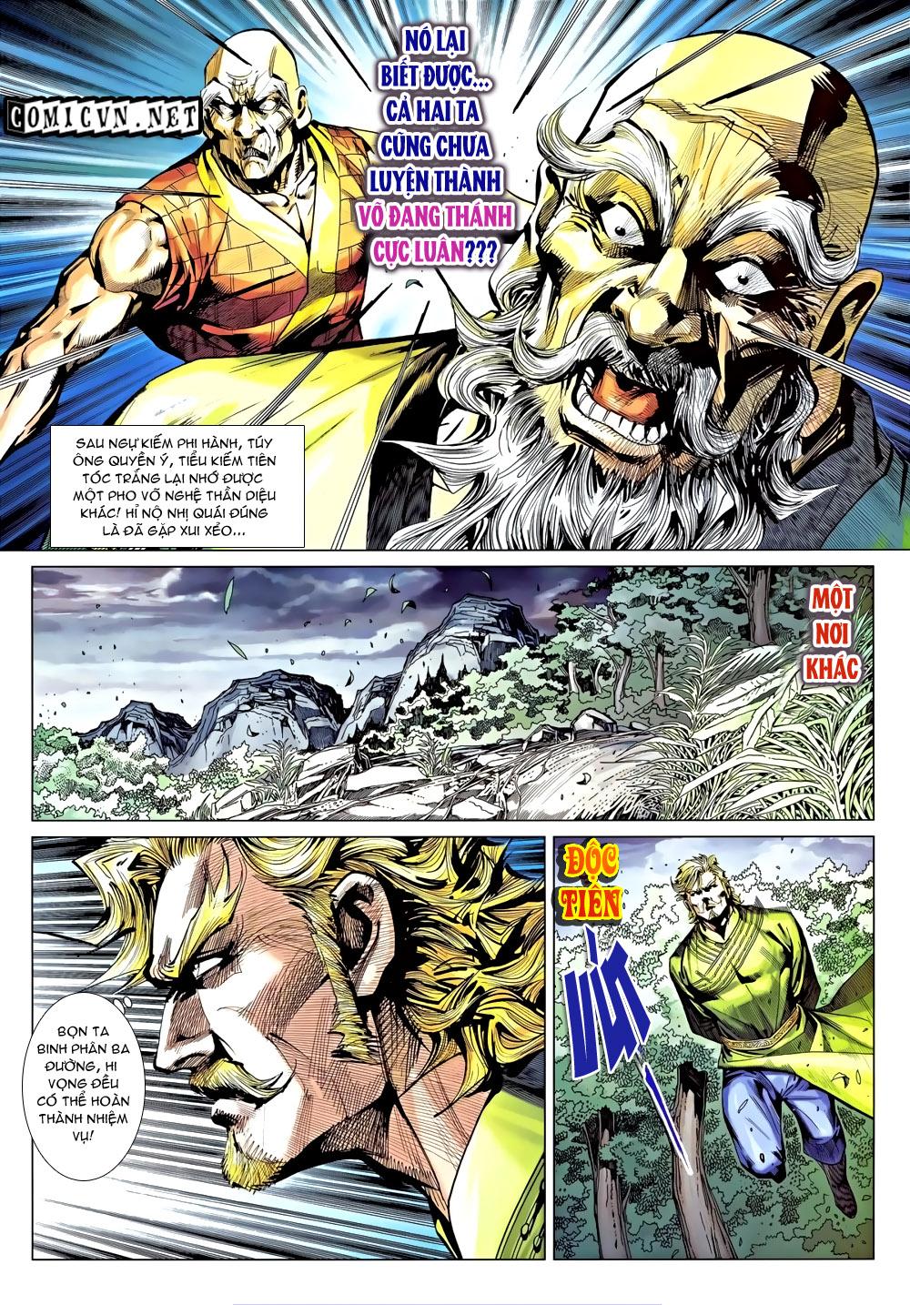 Túy Quyền Chap 9 - Trang 15