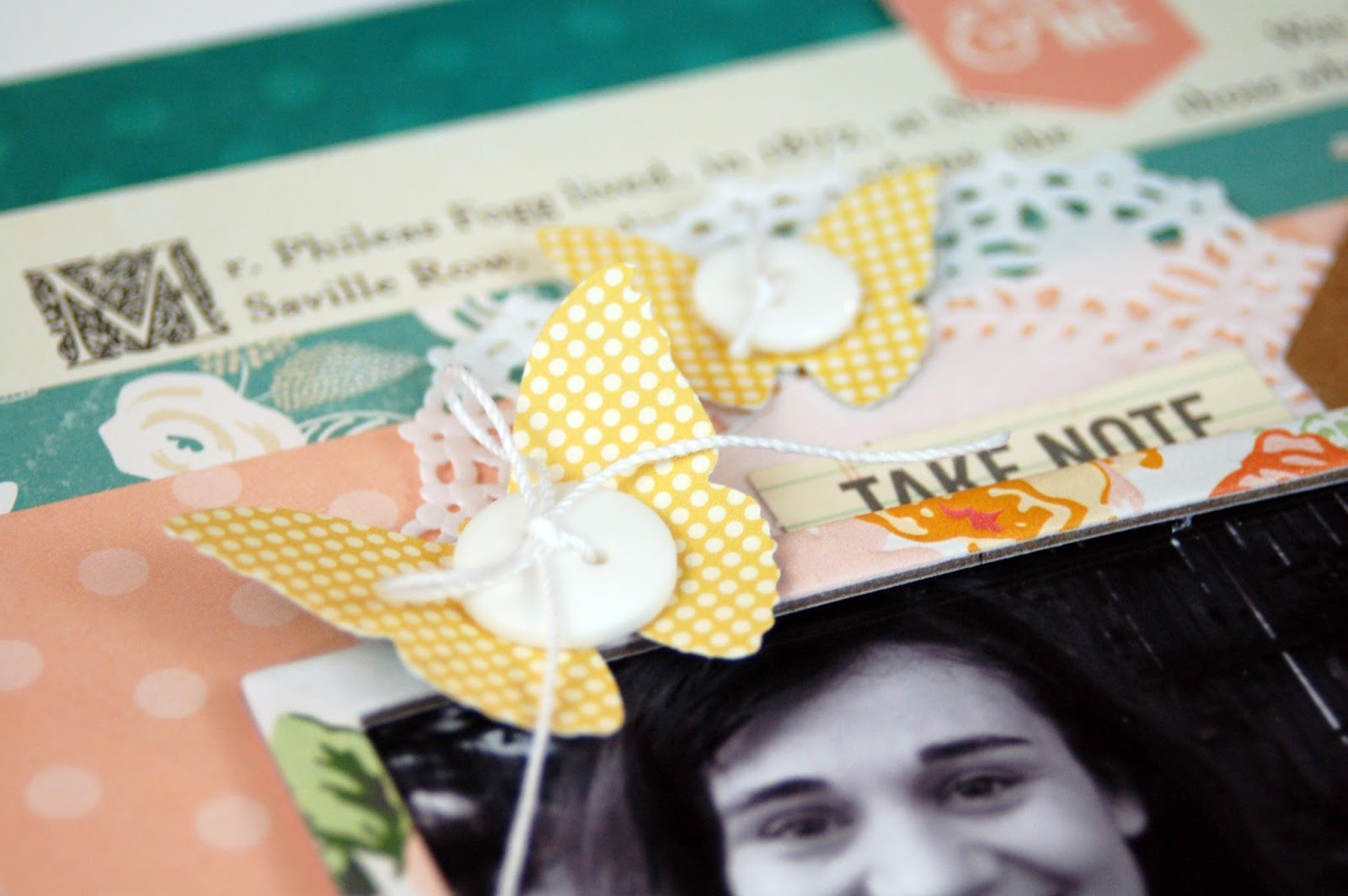 I Treasure and Love This Memory Scrapbooking Process Video by Jen Gallacher