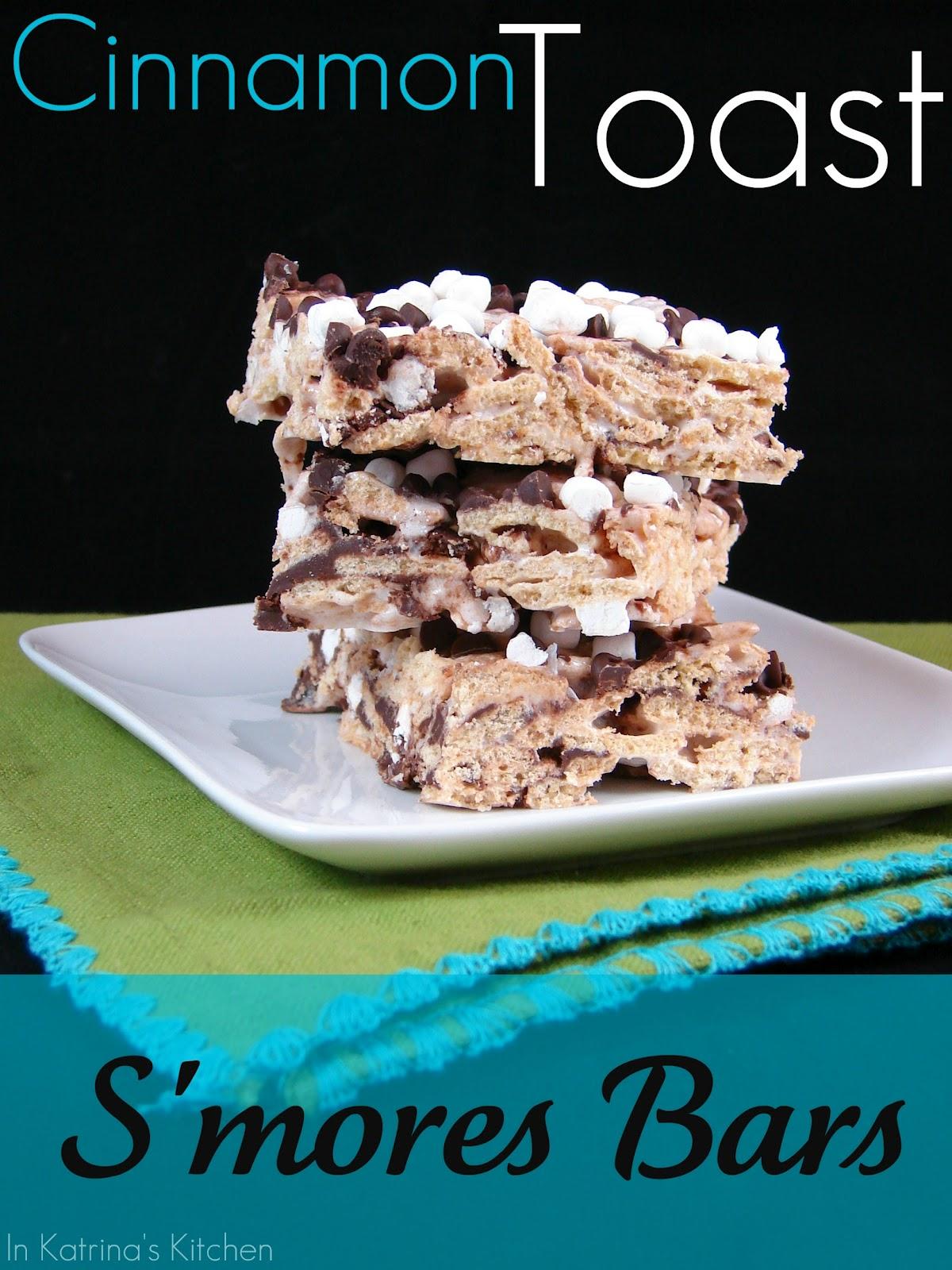 Cinnamon Toast S'mores Bars Recipe