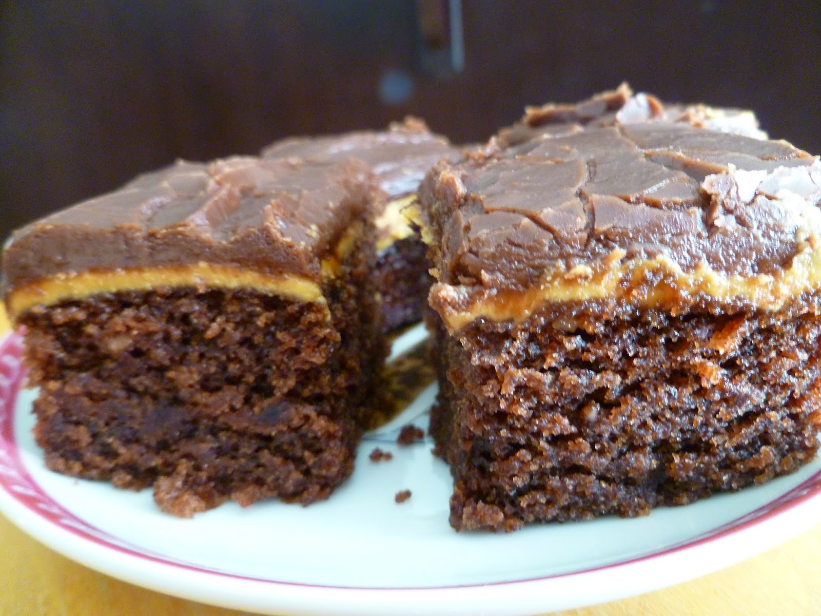 The Pastry Chef's Baking: Peanut Butter Fudge Cake